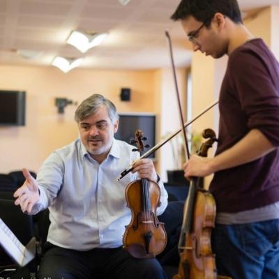 Igor Petrushevski - violin teacher